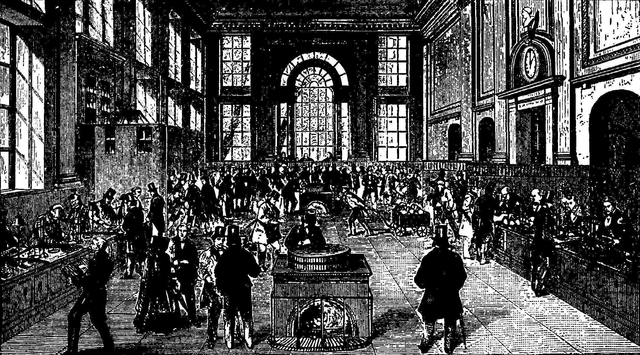 File:Bank, Interiör från Bank of England vid midten af 1800-talet,