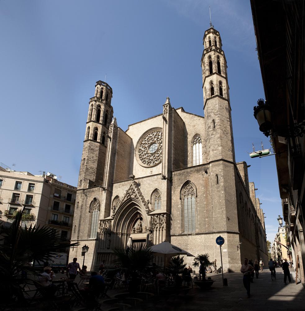 Image result for Gothic Basilica of Santa Maria del Mar
