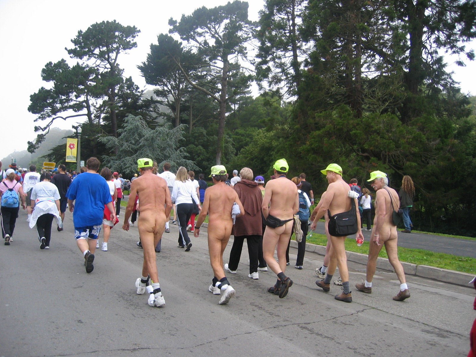 Bay to breakers naked