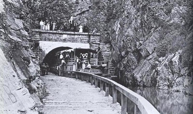 Boat in Paw Paw Tunnel.JPG