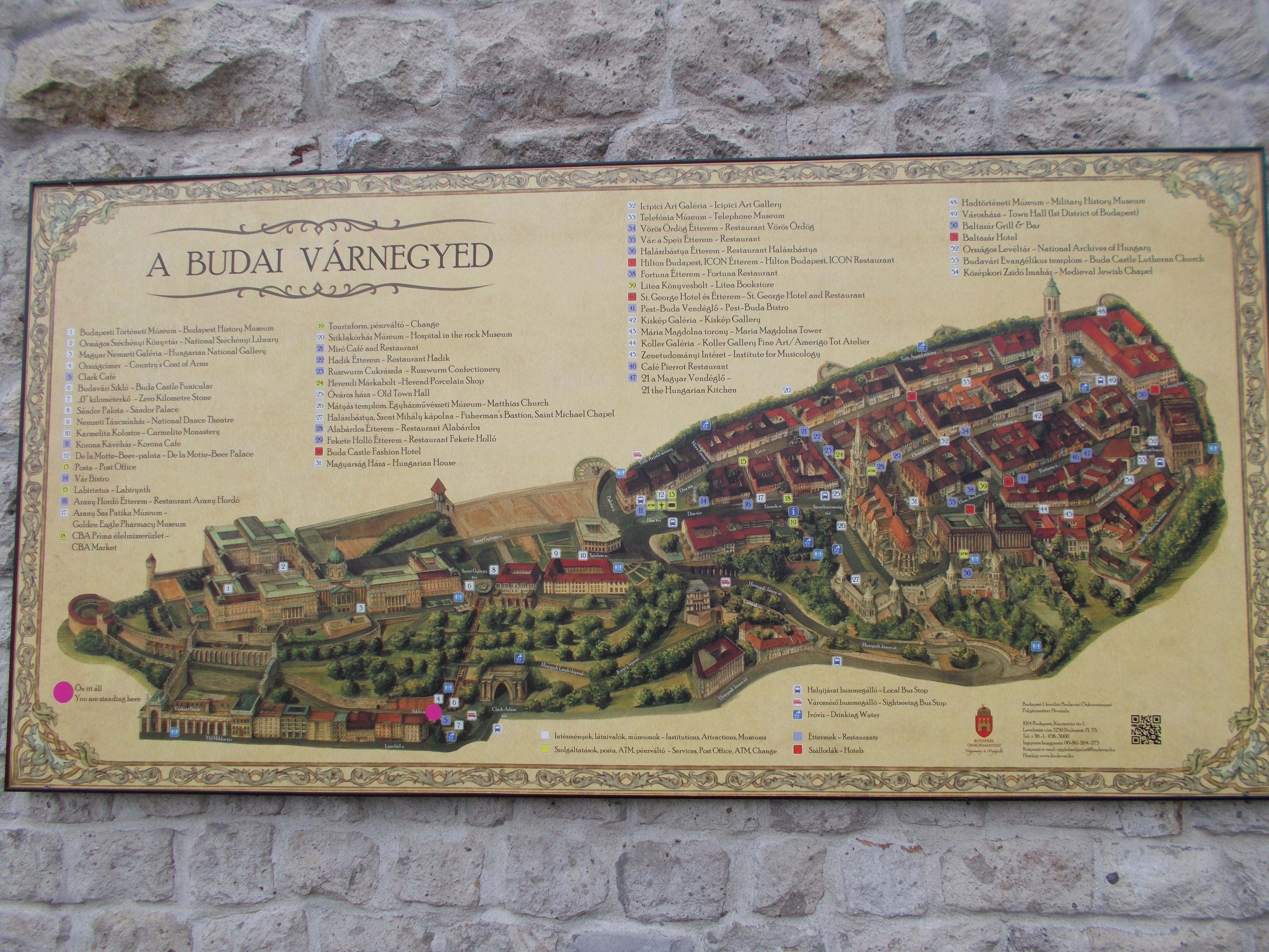 Hungary Castles Map images Explore Buda Castle