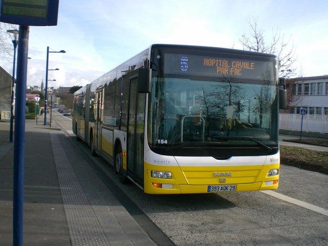 Liste Des Lignes De Bus De Brest Wikip 233 Dia