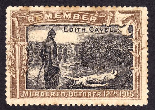 c. 1916 edith cavell propaganda stamp.jpg