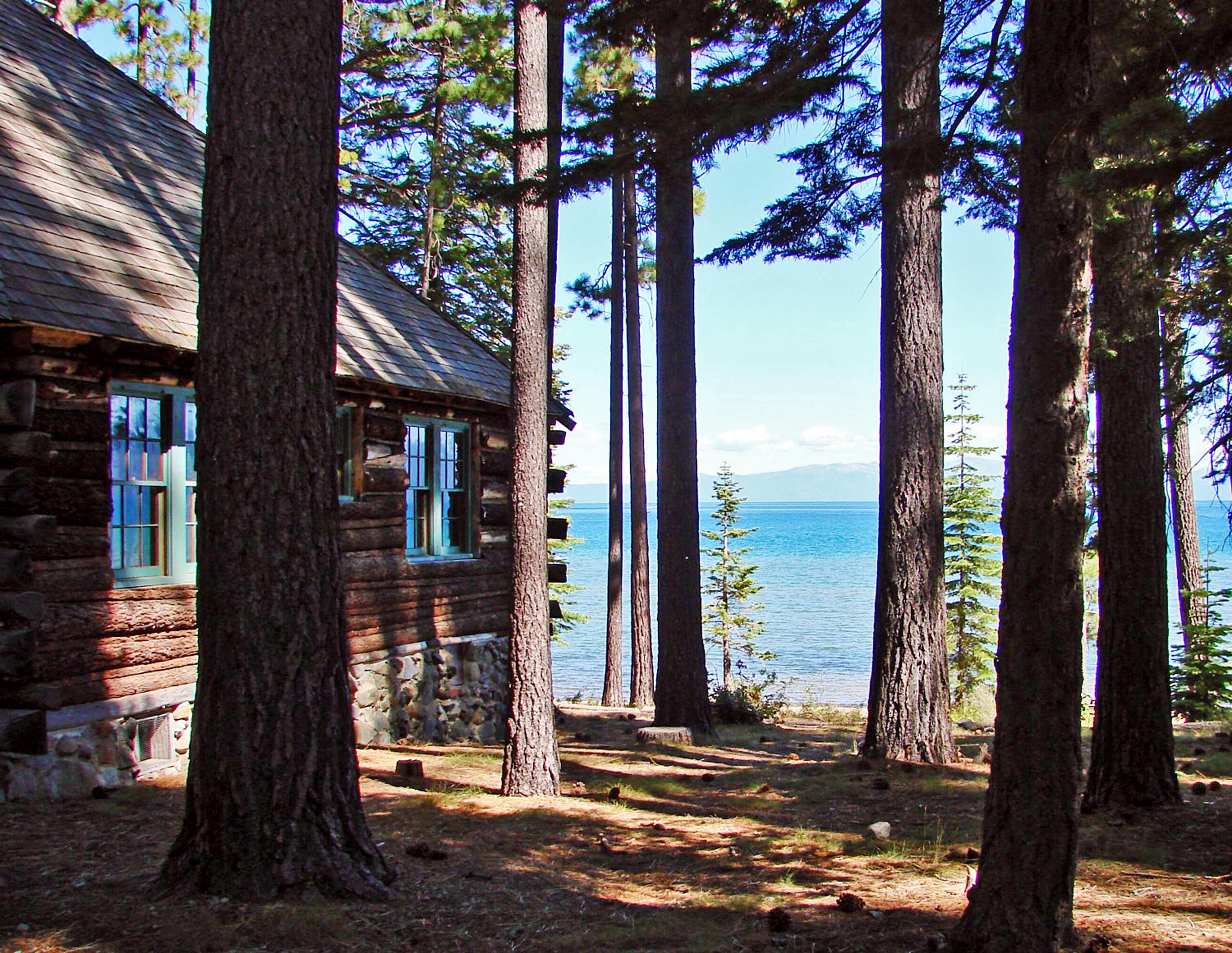south rental drive cabin pierce cabins nez home redawning vacation tahoe in property lake