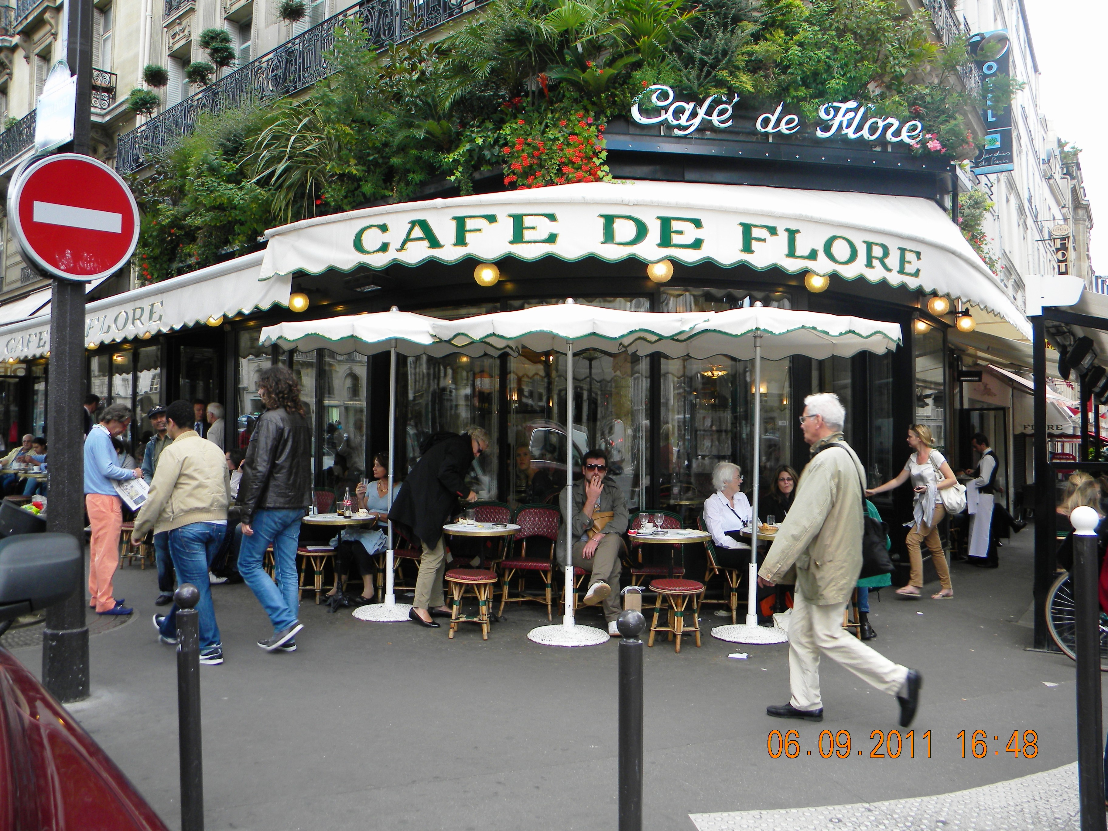 Caf De Paris Envoyer