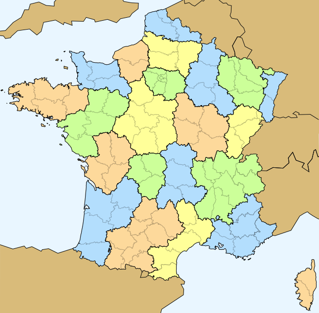 carte de france nom département File:Carte France geo 4 couleurs C.png   Wikimedia Commons