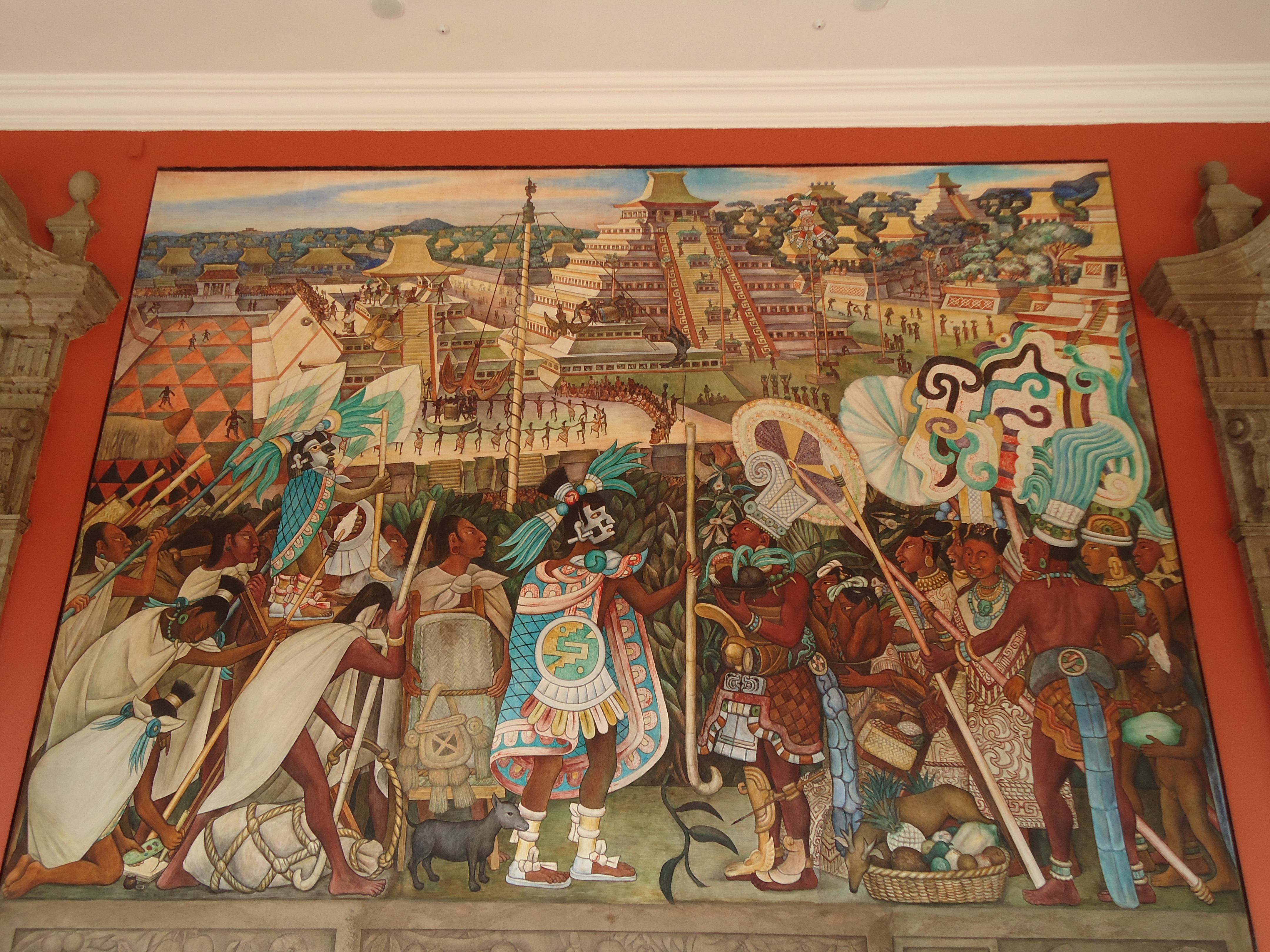 About diego rivera painter artist mexico upclosed for Diego rivera mural new york