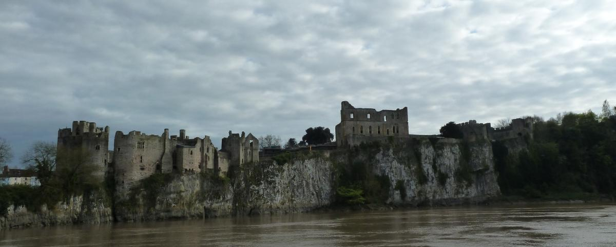 Castle Photography Chepstow Chepstow Castle Seen From The