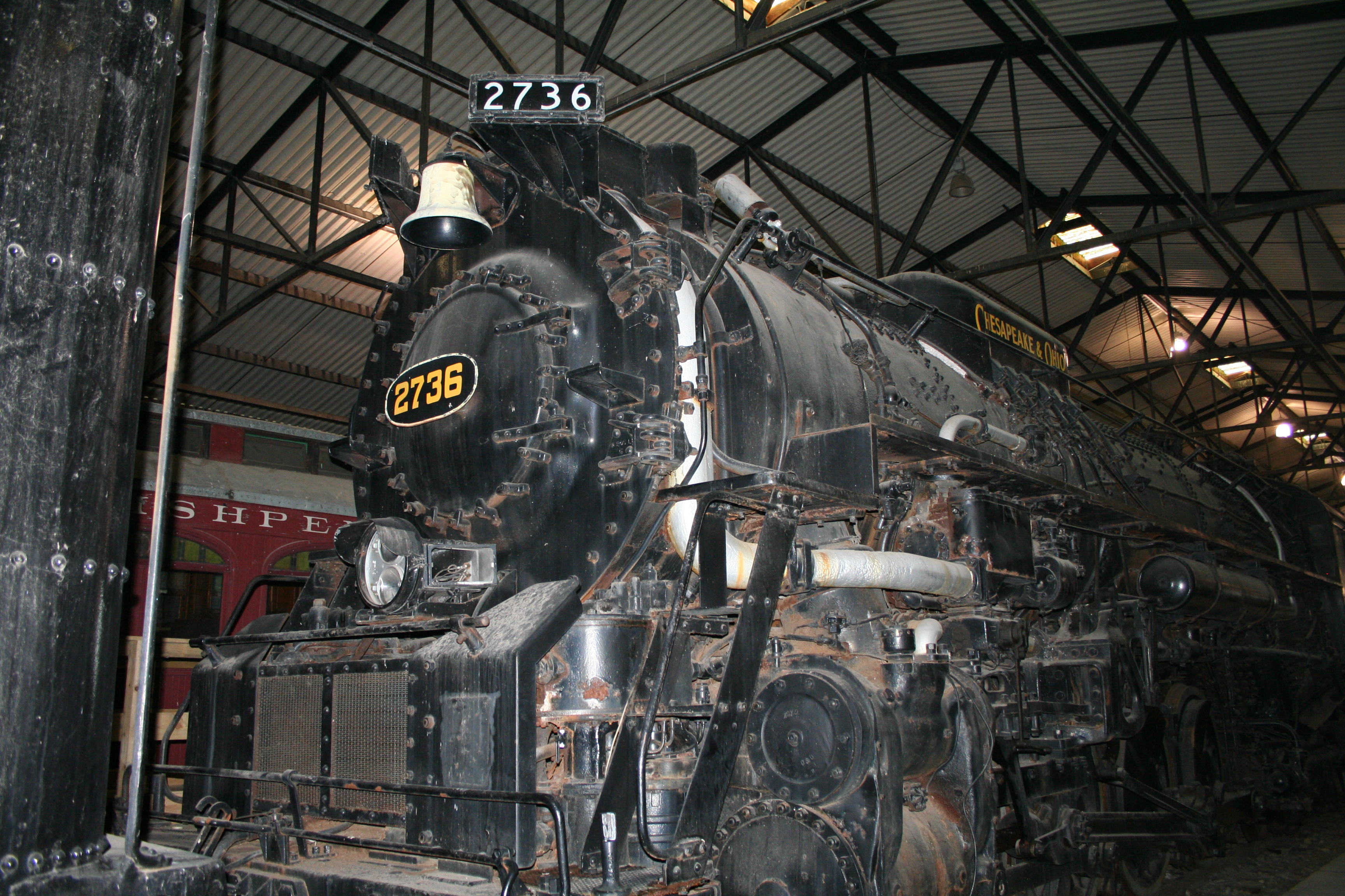 File:Chesapeake and Ohio Railway K-4 class No 2736.jpg