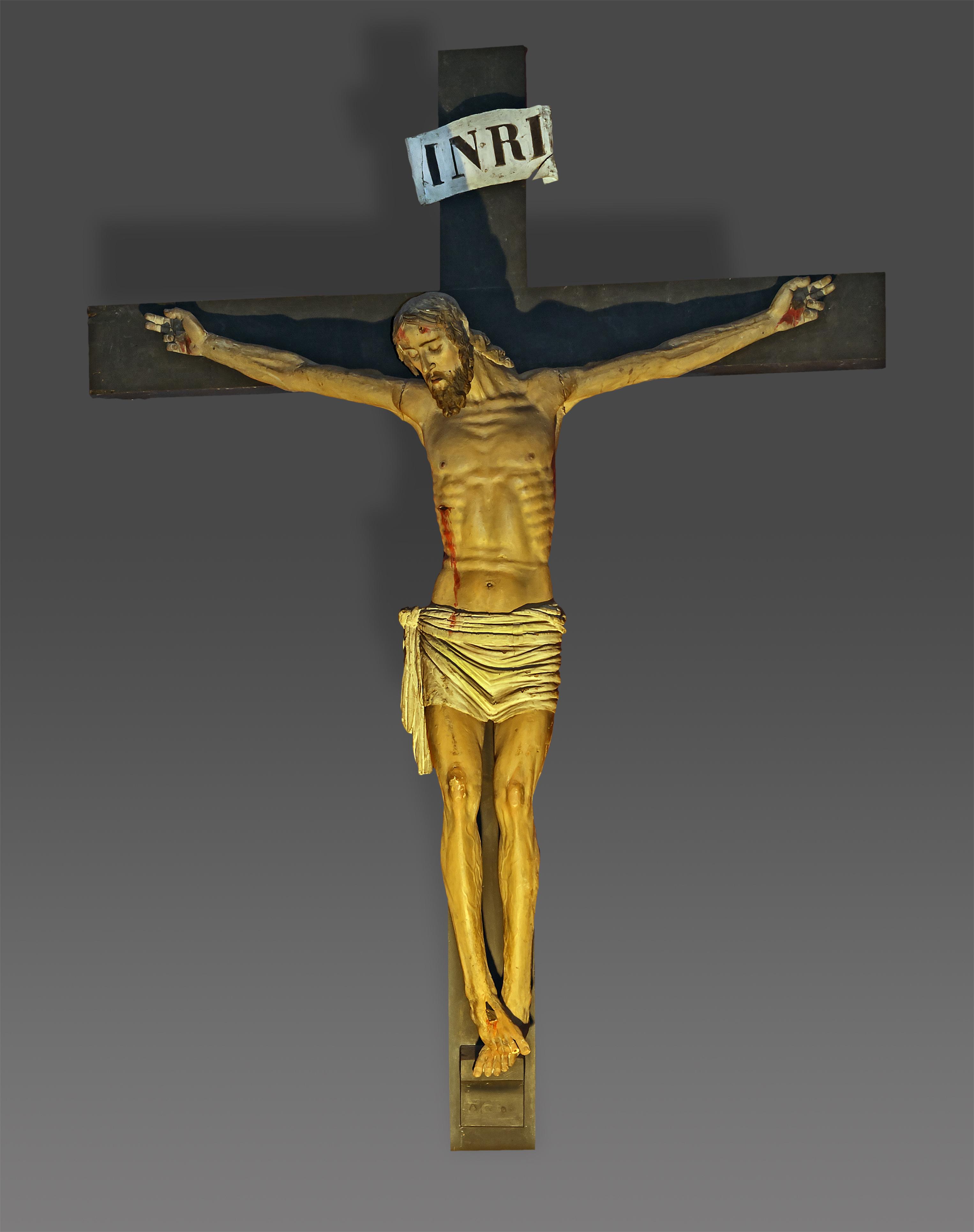 file christ en croix par thibaud maitrier saint exup re. Black Bedroom Furniture Sets. Home Design Ideas