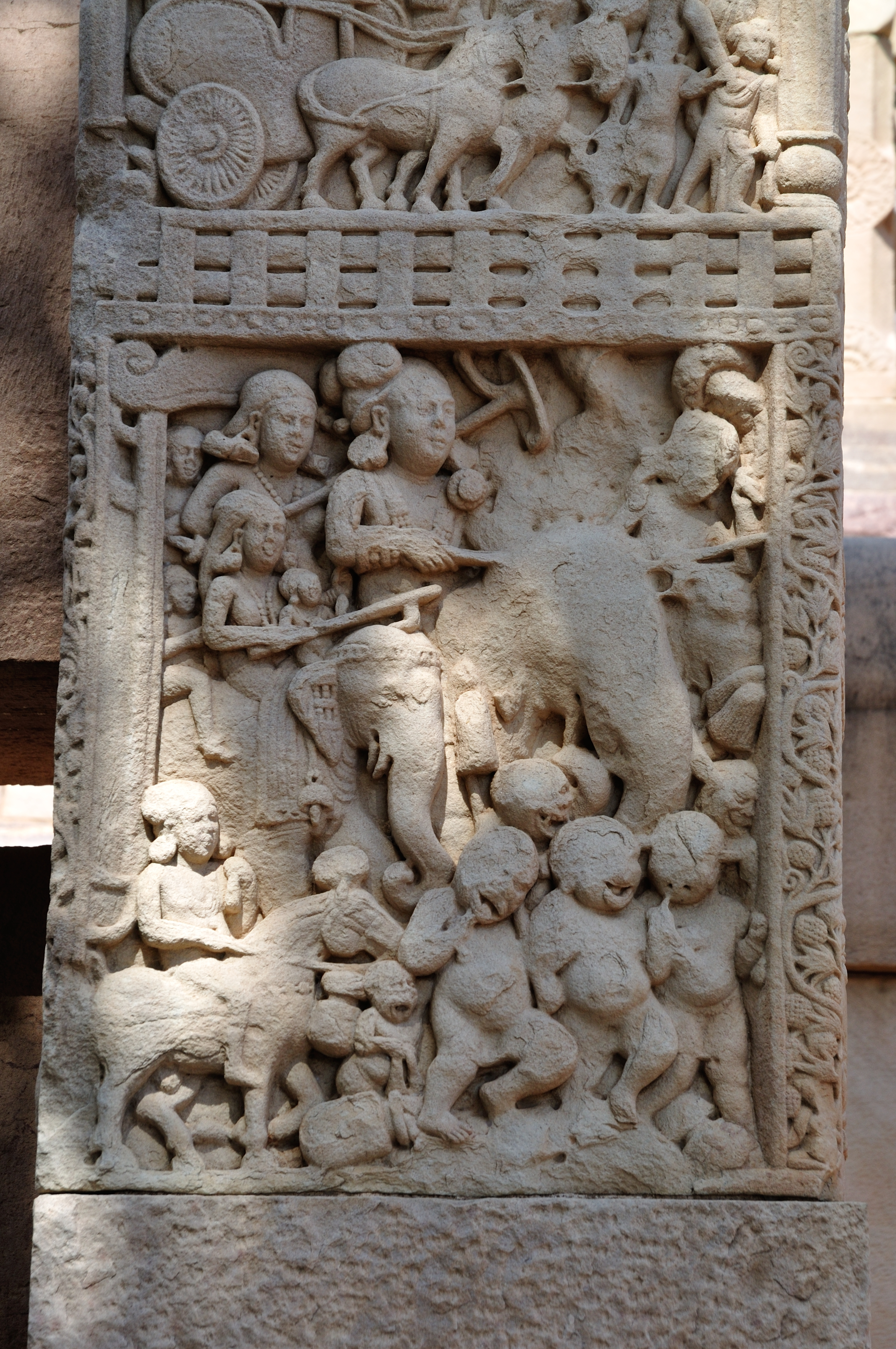 a comparison of the detail of the yakshi on the gateway of the great stupa at sanchi to the sculptur Search the history of over 338 billion web pages on the internet.