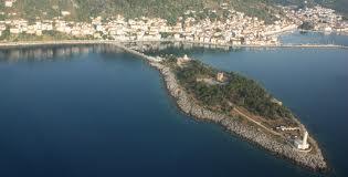 Cranae island in Greece