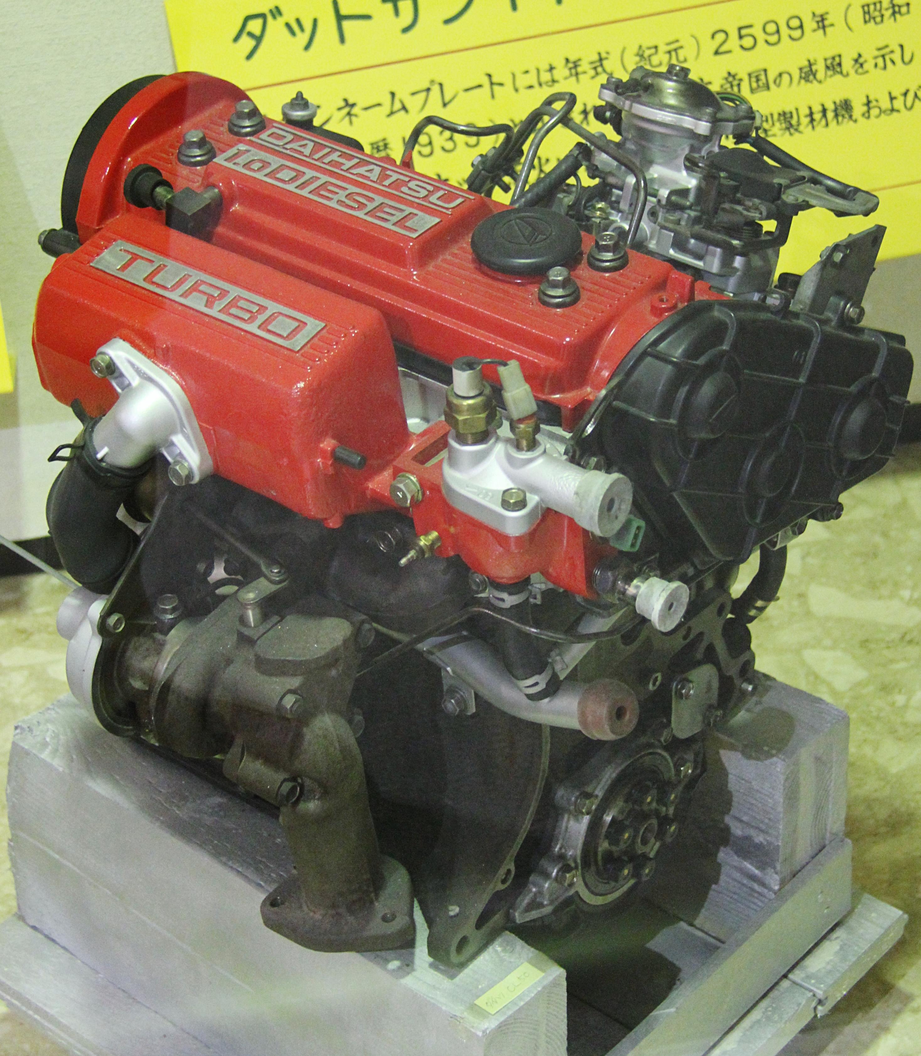 Daihatsu Motor: File:Daihatsu CL-50 Engine.jpg