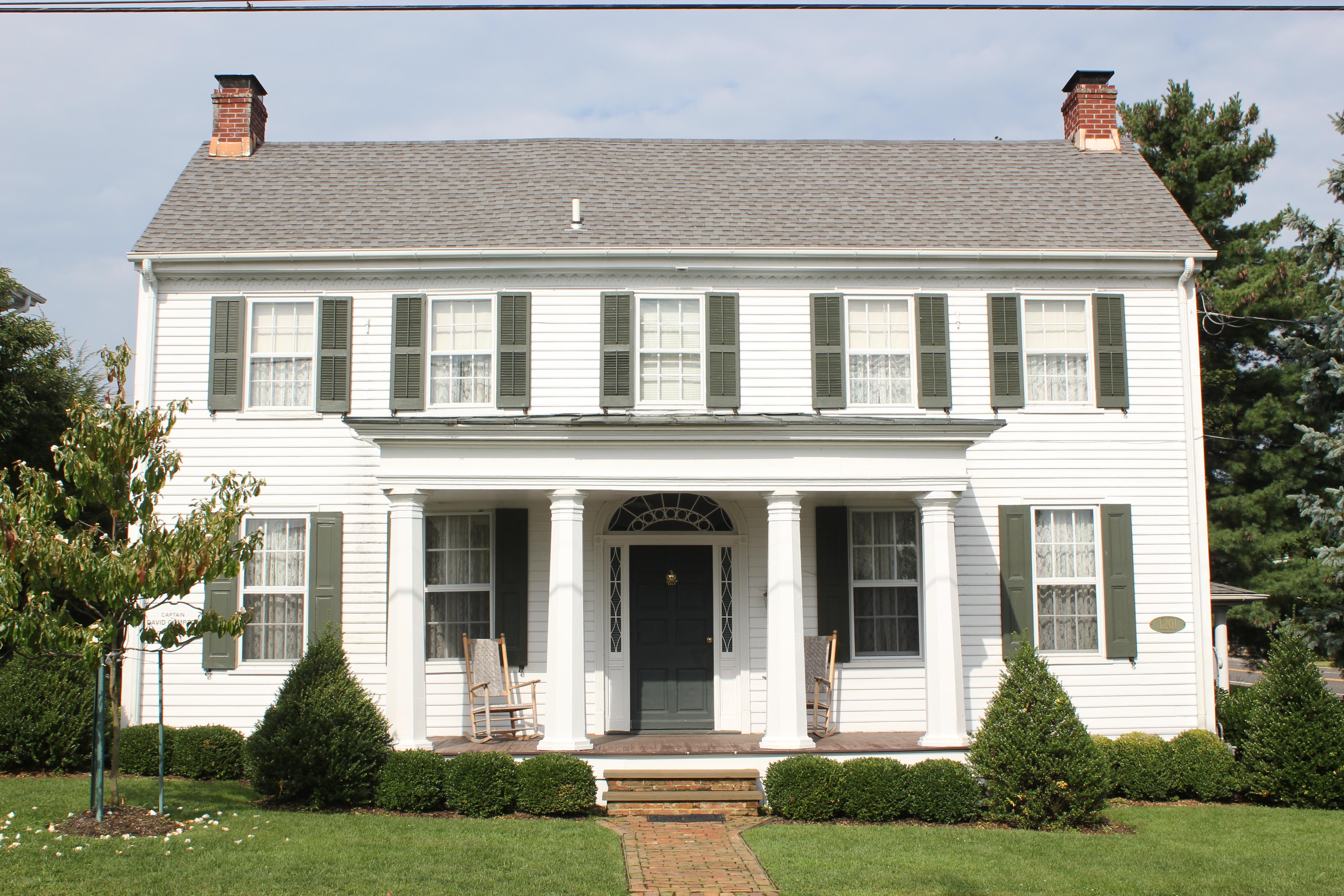 File David Compton House Front Elevation Jpg Wikimedia
