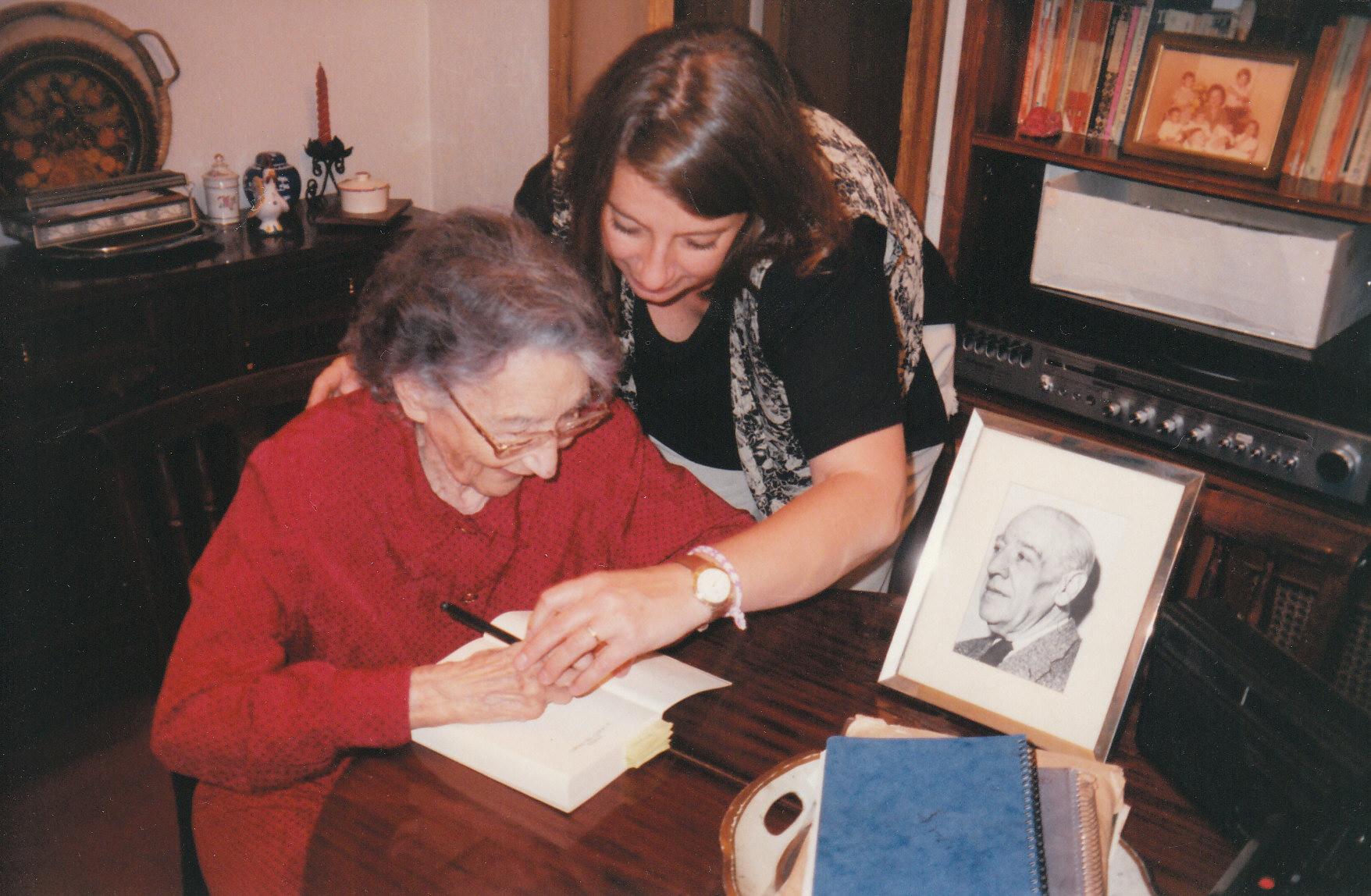 Ernestina de Champourcin in 1996