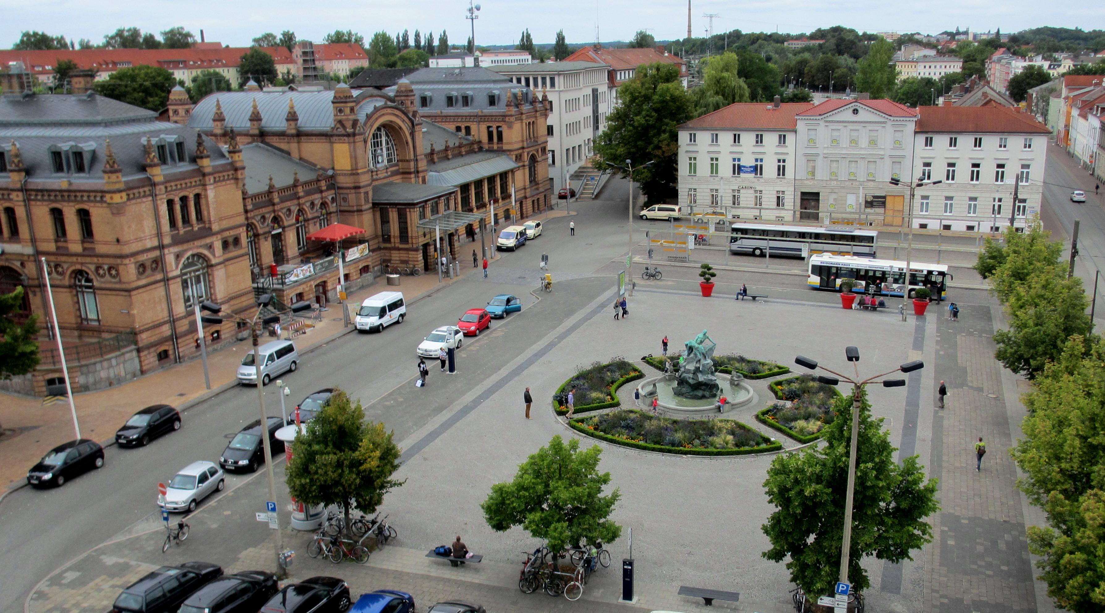 Grunthalplatz Schwerin