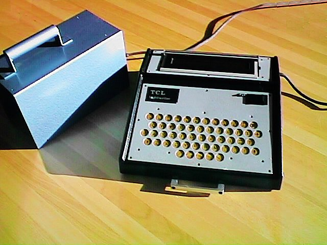 Early Lightwriter in the 1970s