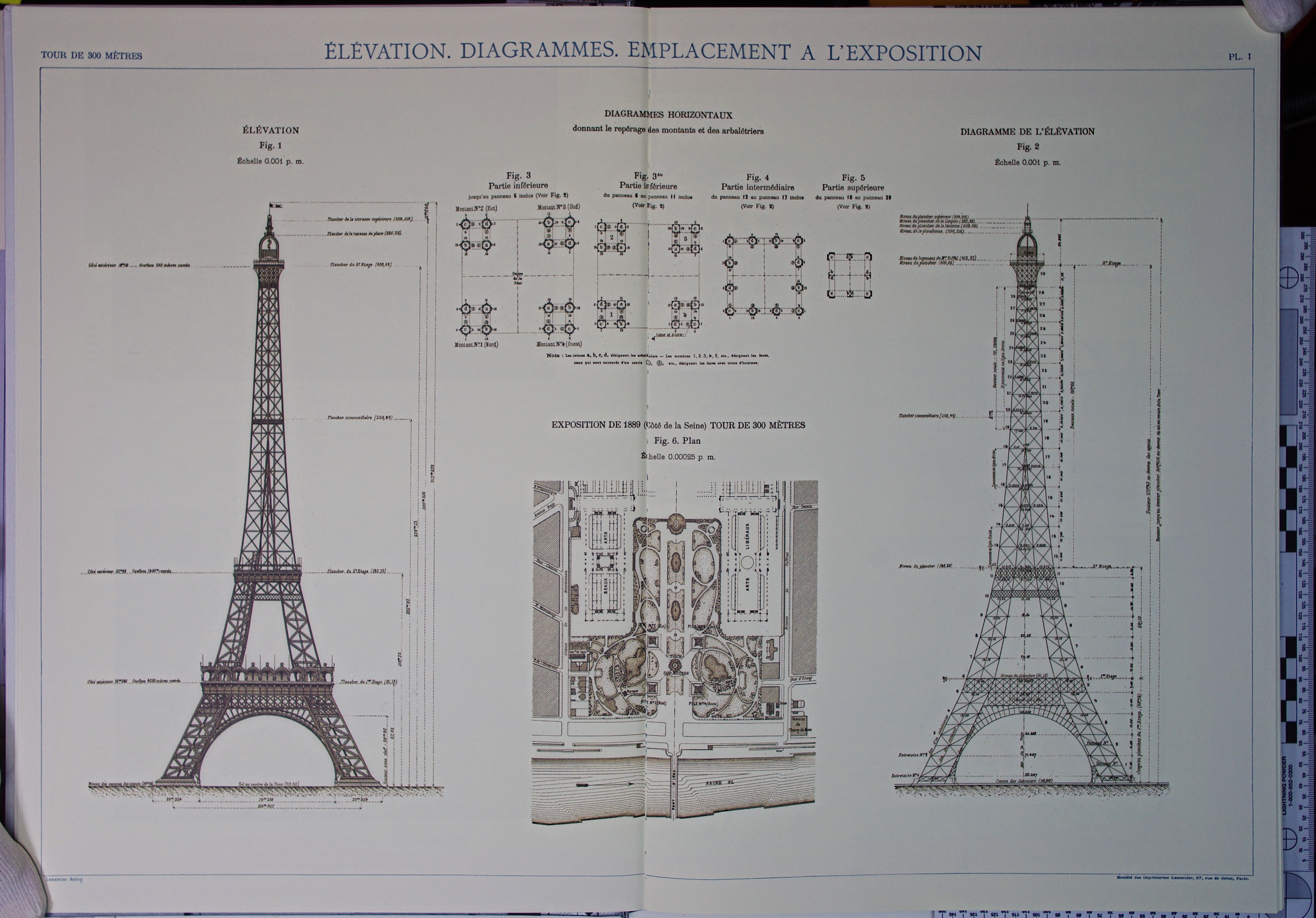 Elevation Plan Ne Demek : Elevation plan of eiffel tower joy studio design gallery