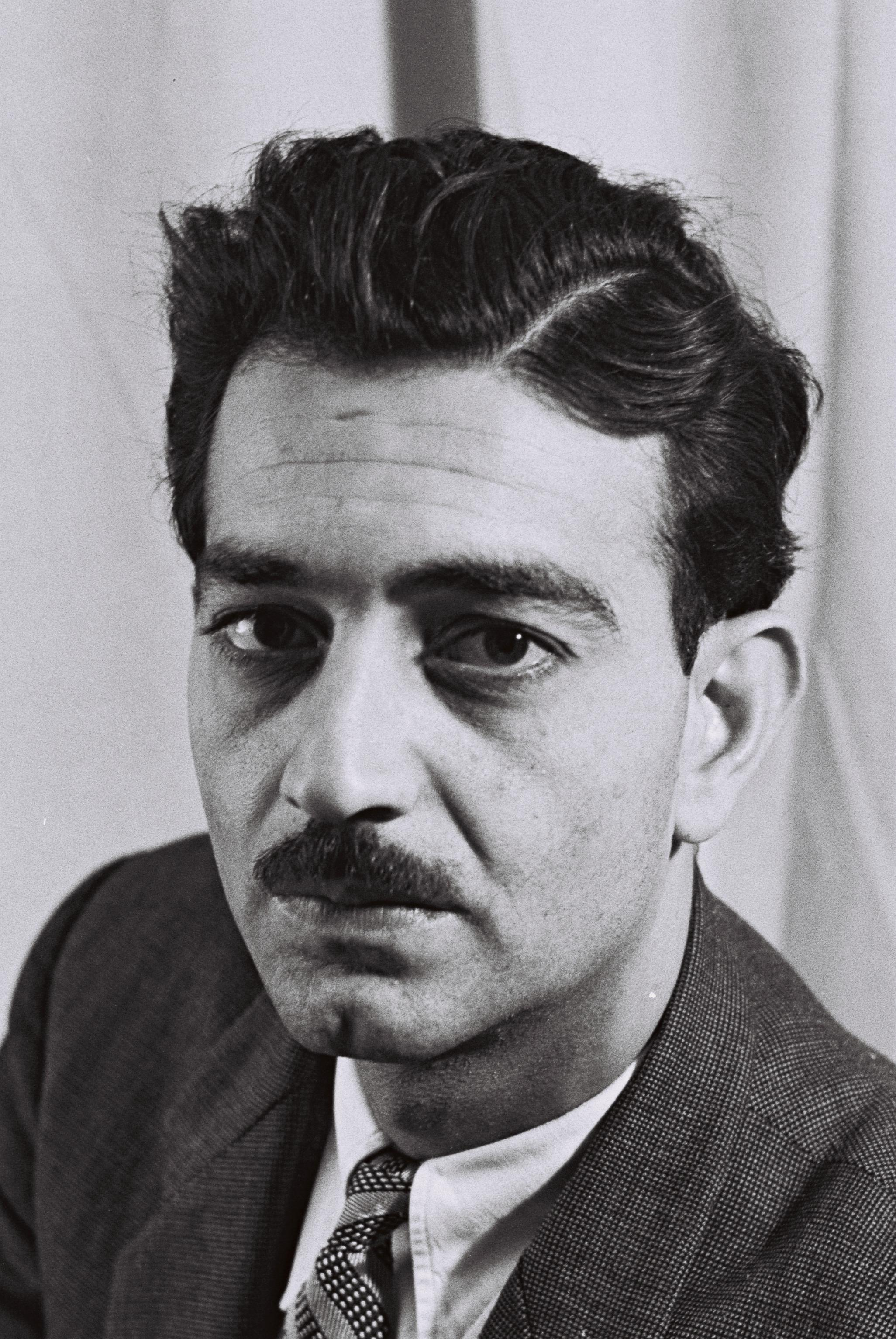 PORTRAIT OF EMILE HABIBI, ISRAEL COMMUNIST PARTY