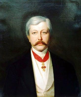 Portrait d'Engelbert-Auguste d'Arenberg avant 1875.