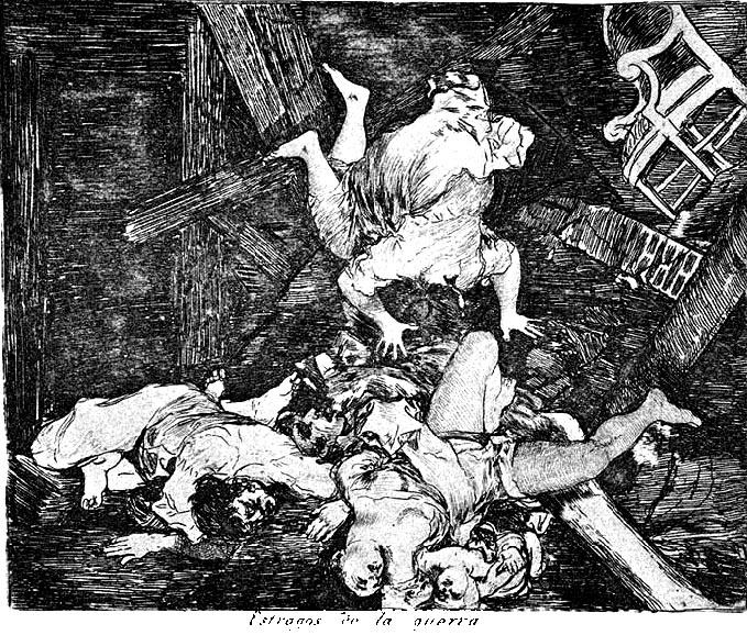 Depiction of Estragos de la guerra