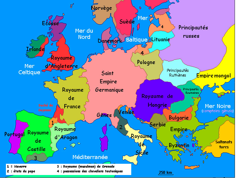 Mapa Europa Siglo Ix.Blog De Sociales Para El Alumnado De 1º Y 2º Eso Tema 3 Europa En Los Siglos Xiii Y Xiv