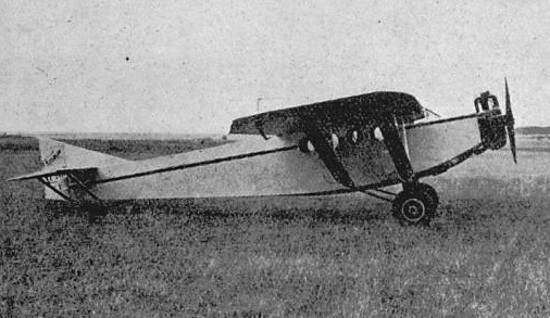 Farman F.190 right side Annuaire de L'Aéronautique 1931