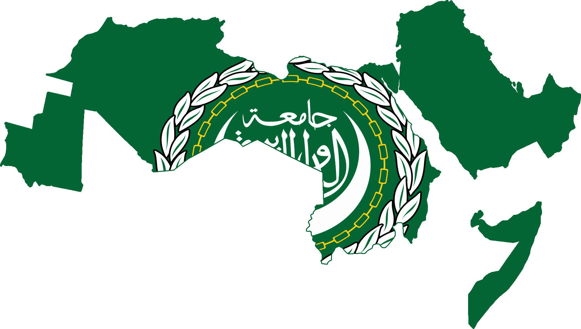 Picture of: File Flag Map Of Arab League Png Wikimedia Commons