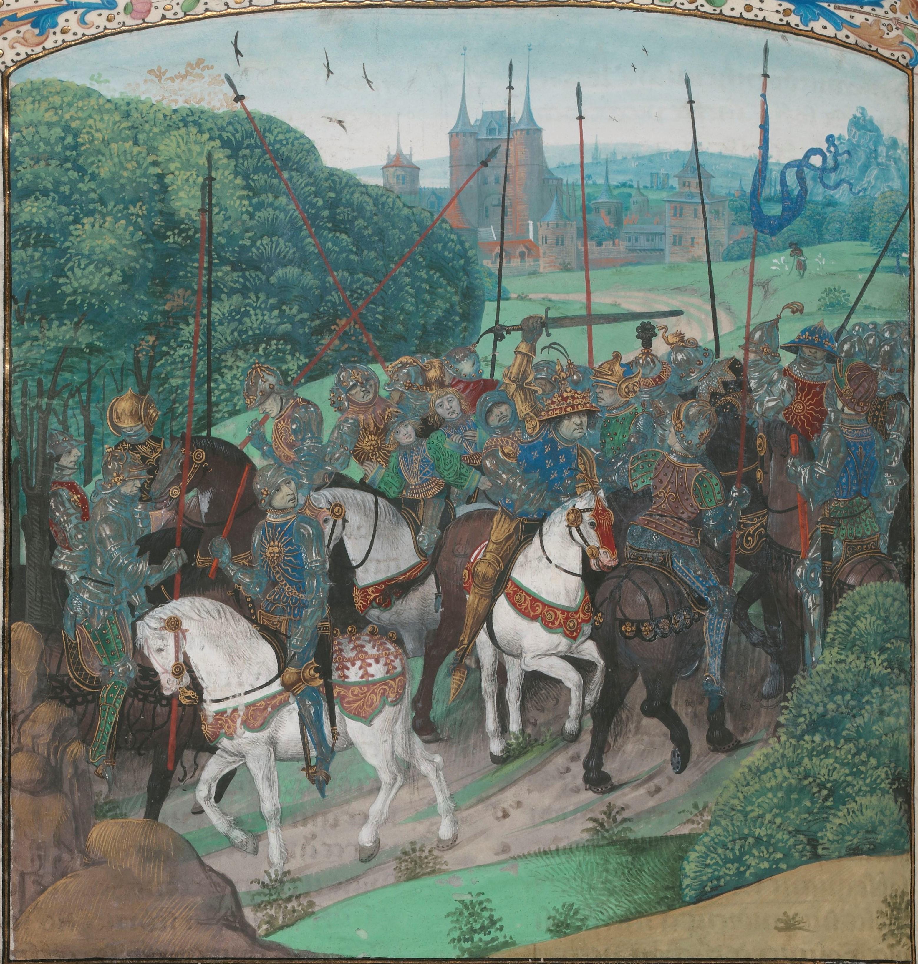 Folie Charles VI forêt du Mans