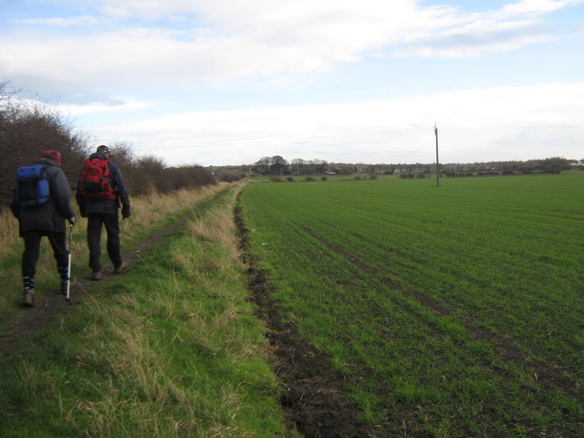 Footpath to Whitburn - geograph.org.uk - 1585784