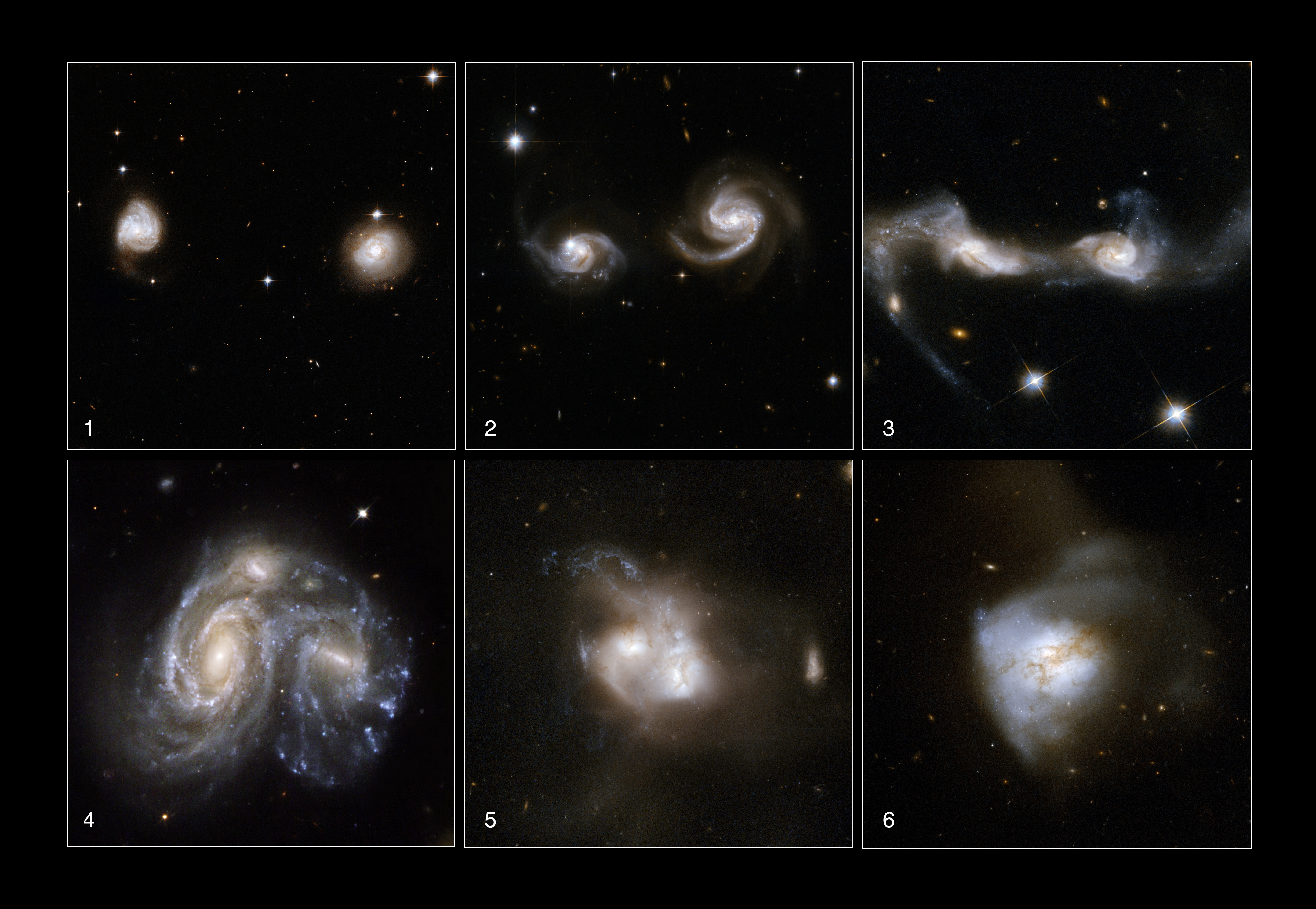 types of two spiral galaxies - photo #44
