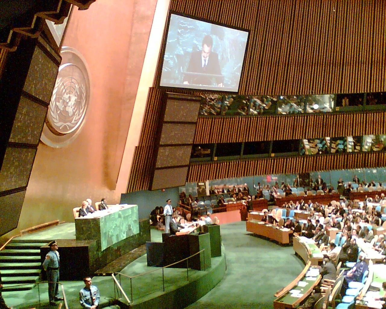 UN Vollversammlung