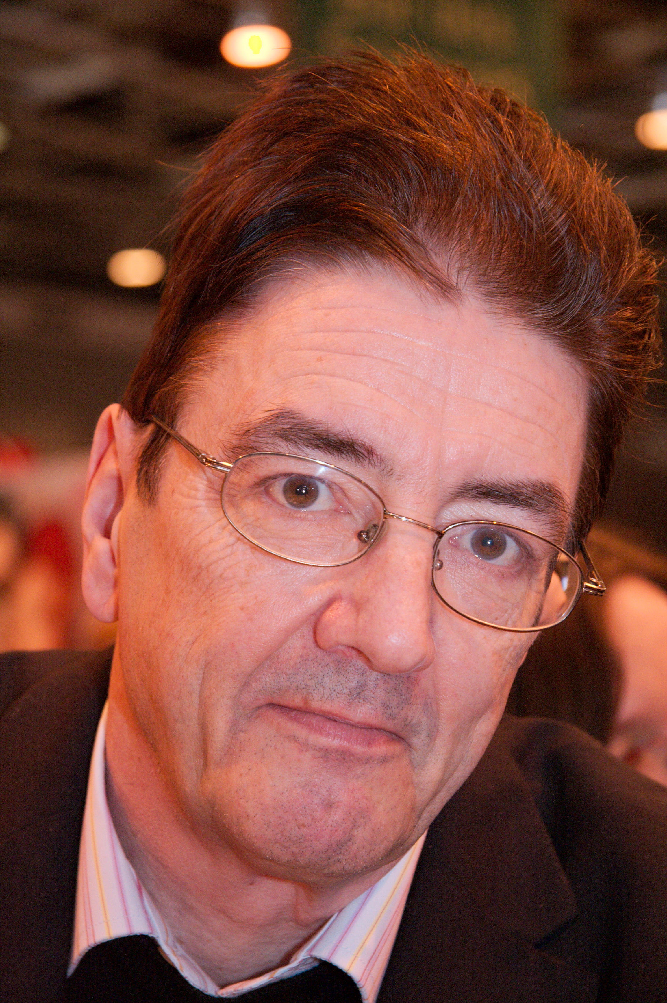 Graham Masterton at Salon du livre 2008 (Paris, France)