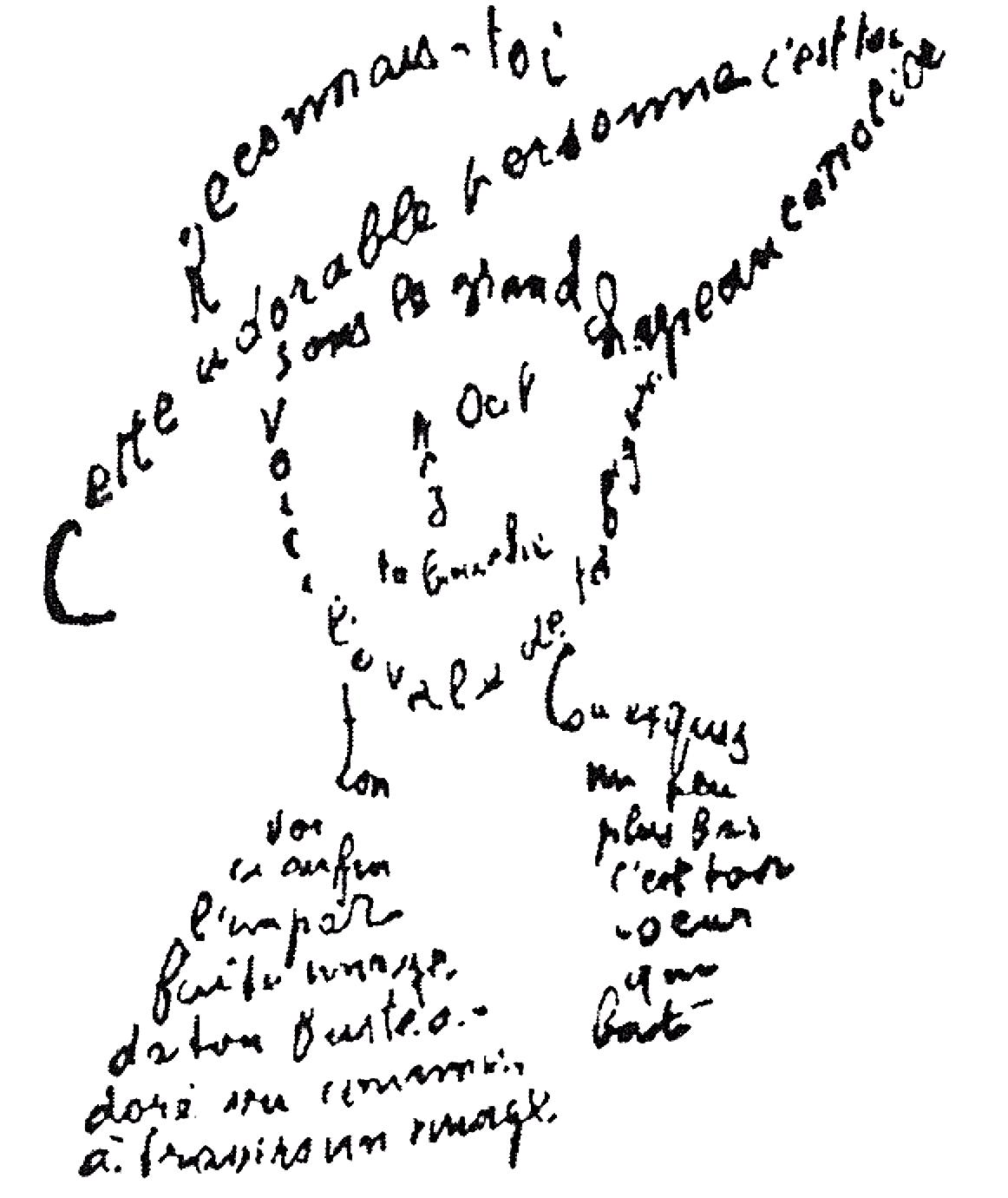 Caligramas Apollinaire Wikipedia La Enciclopedia Libre