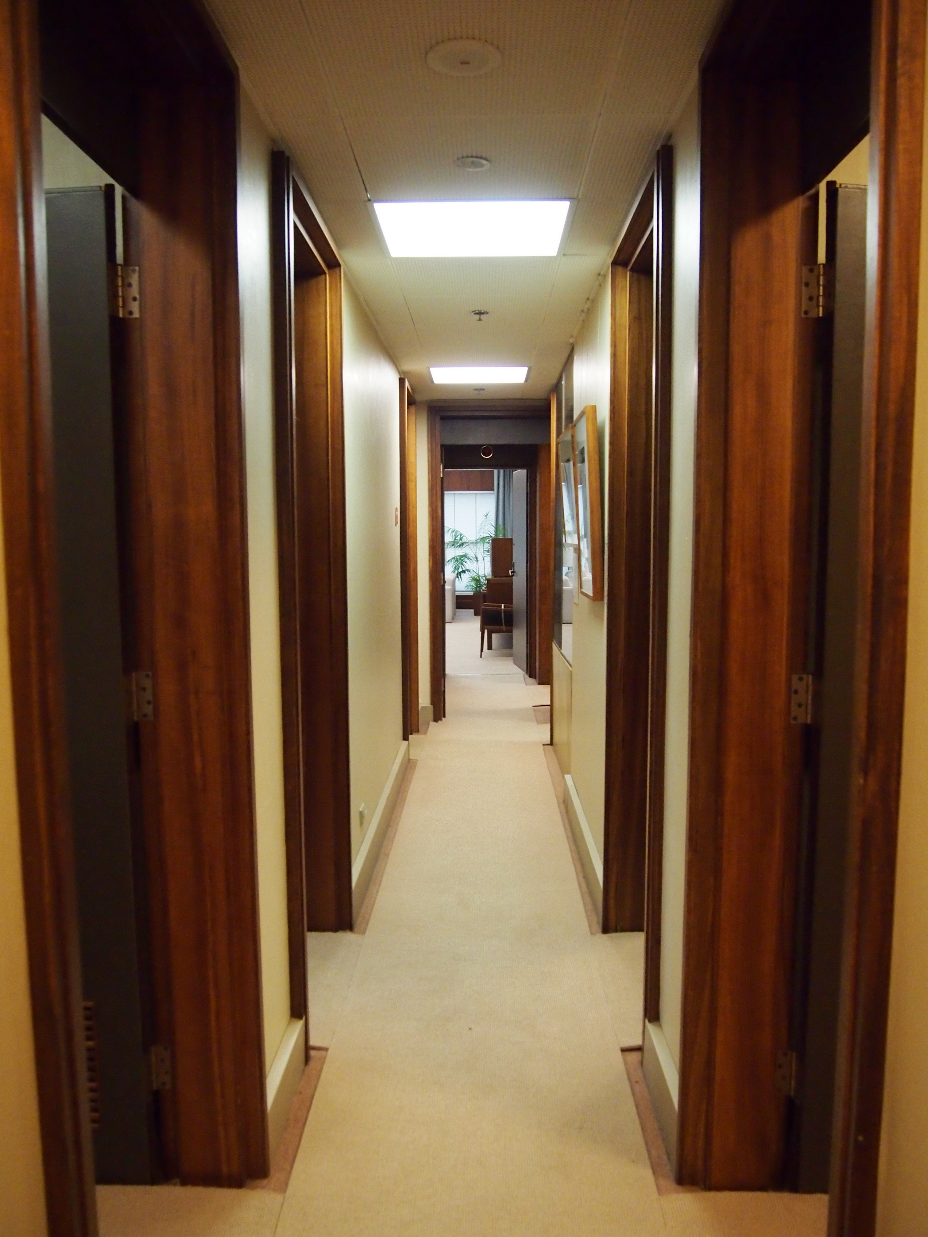FileHallway In The PMs Suite At Old Parliament House