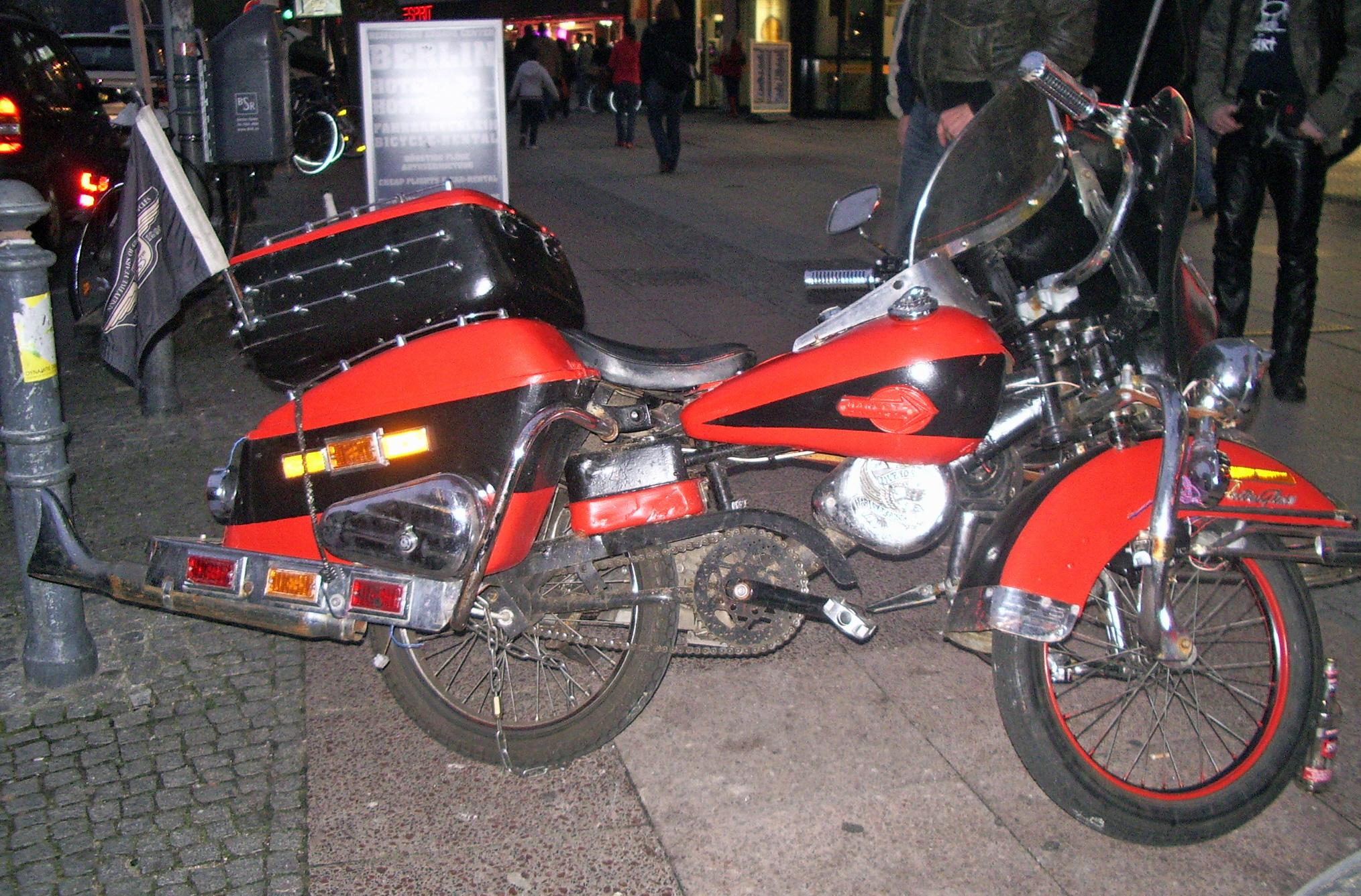 Harley Fahrrad
