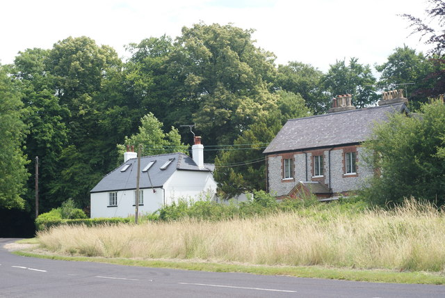 Houses on Ranmore Common, Surrey - geograph.org.uk - 1395189
