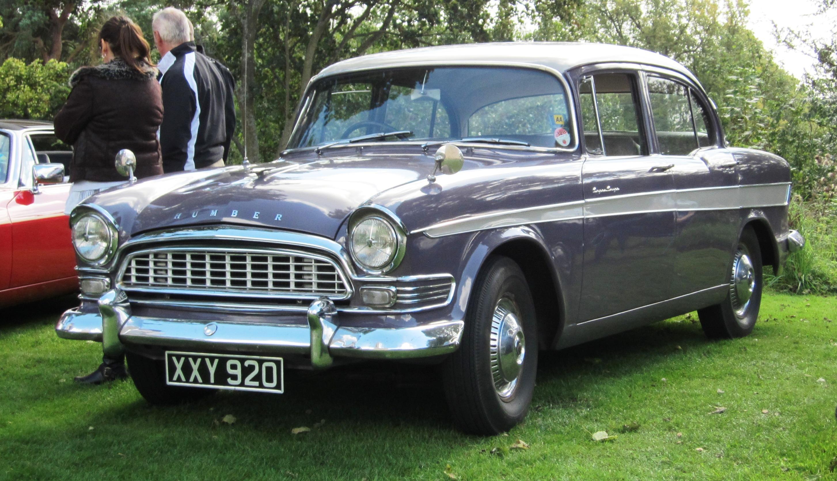Limousine For Sale >> File:Humber Super Snipe Series II 2965cc November 1959.jpg ...
