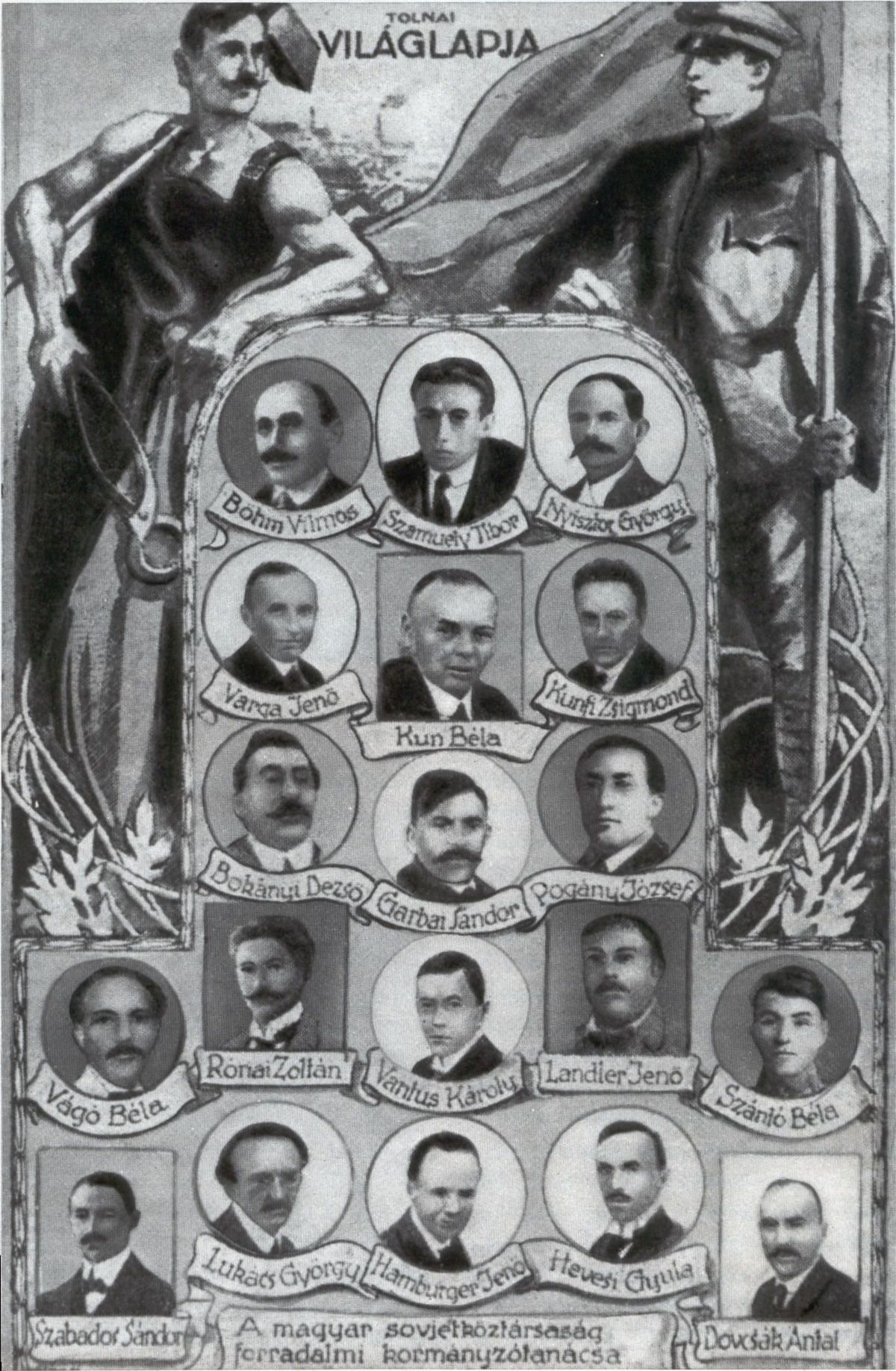 Dosiero:Hungarian Government 1919.jpg