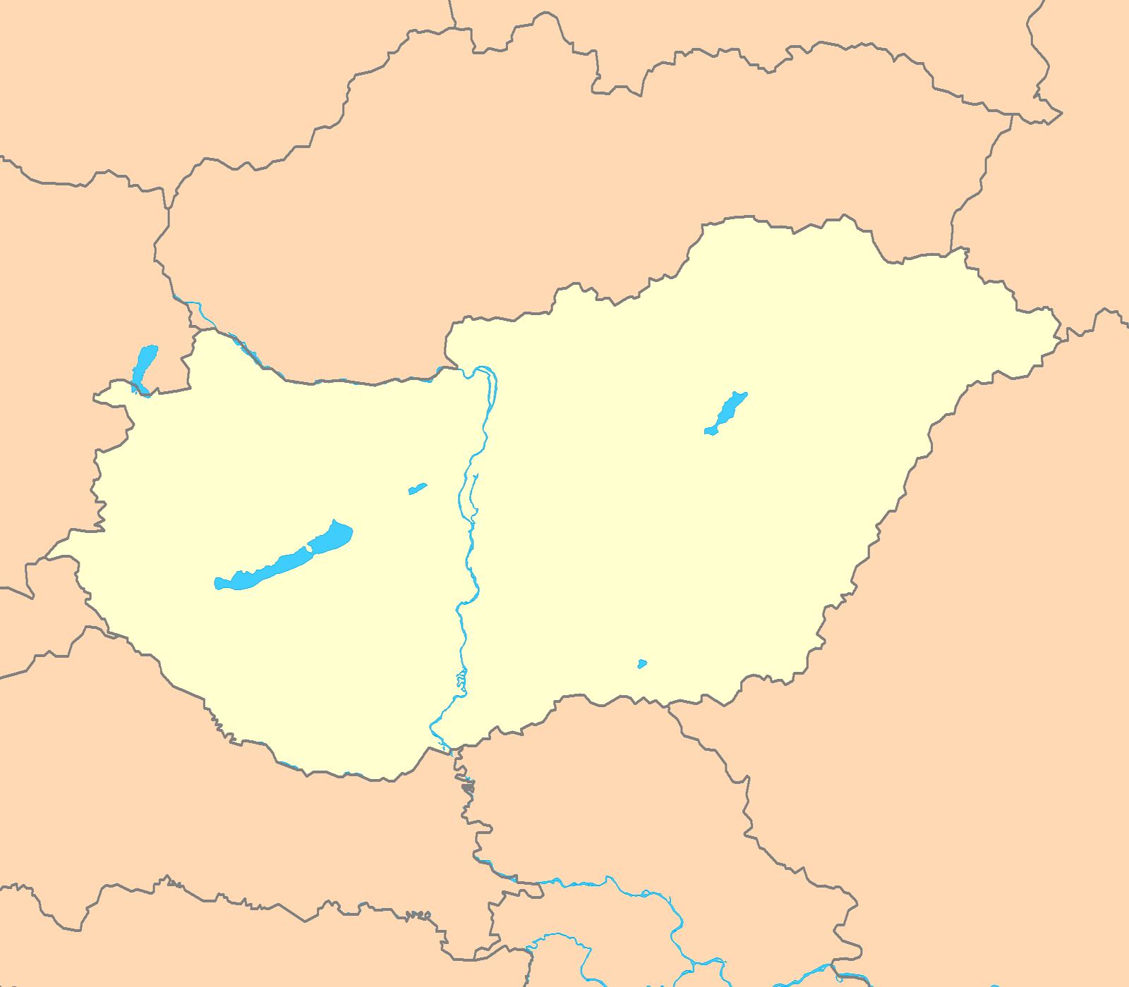 FileHungary Map Blankpng Wikimedia Commons - Hungary map