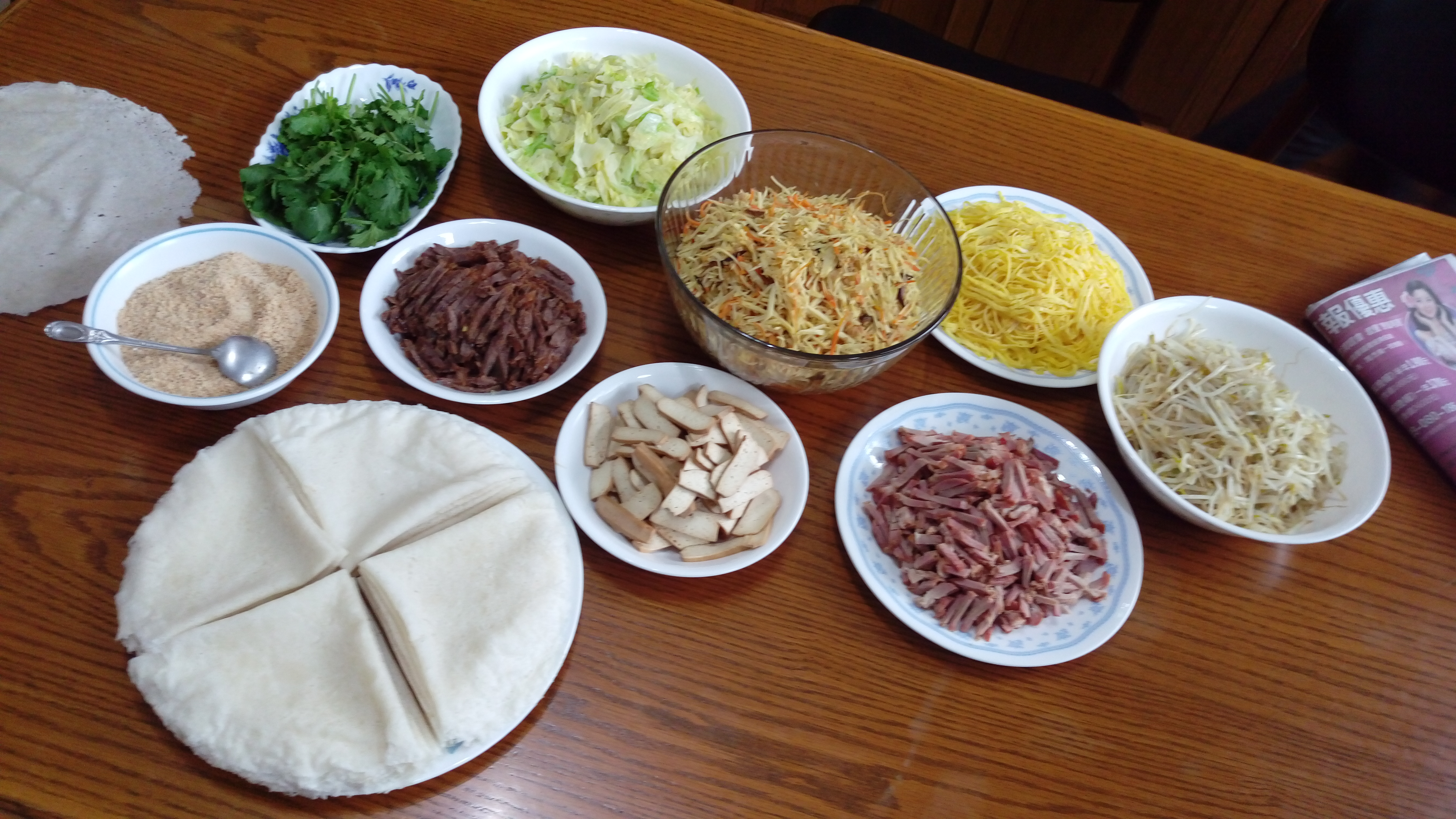 History of asian ingredients