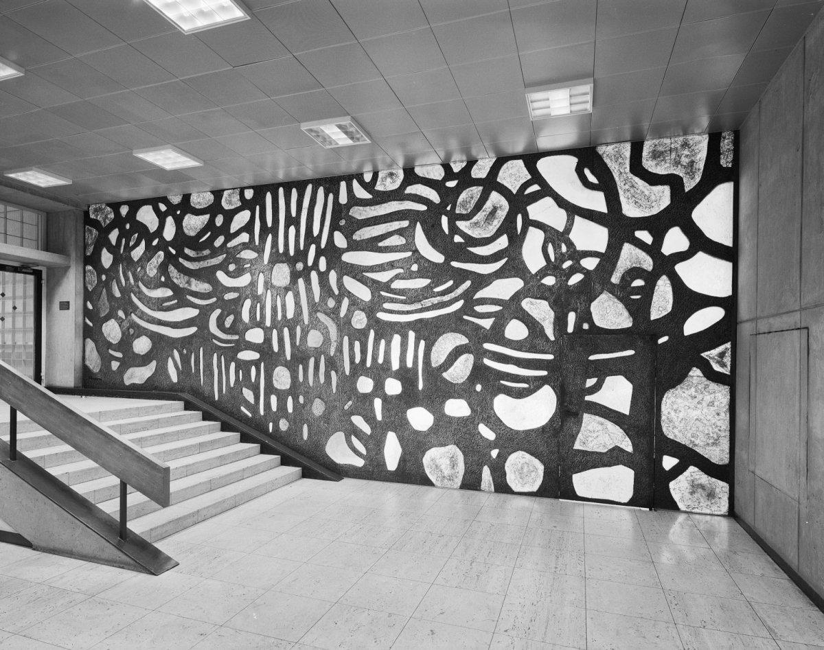 Interieur Staal Interieur : File interieur aanzicht wand in staal en glas amsterdam