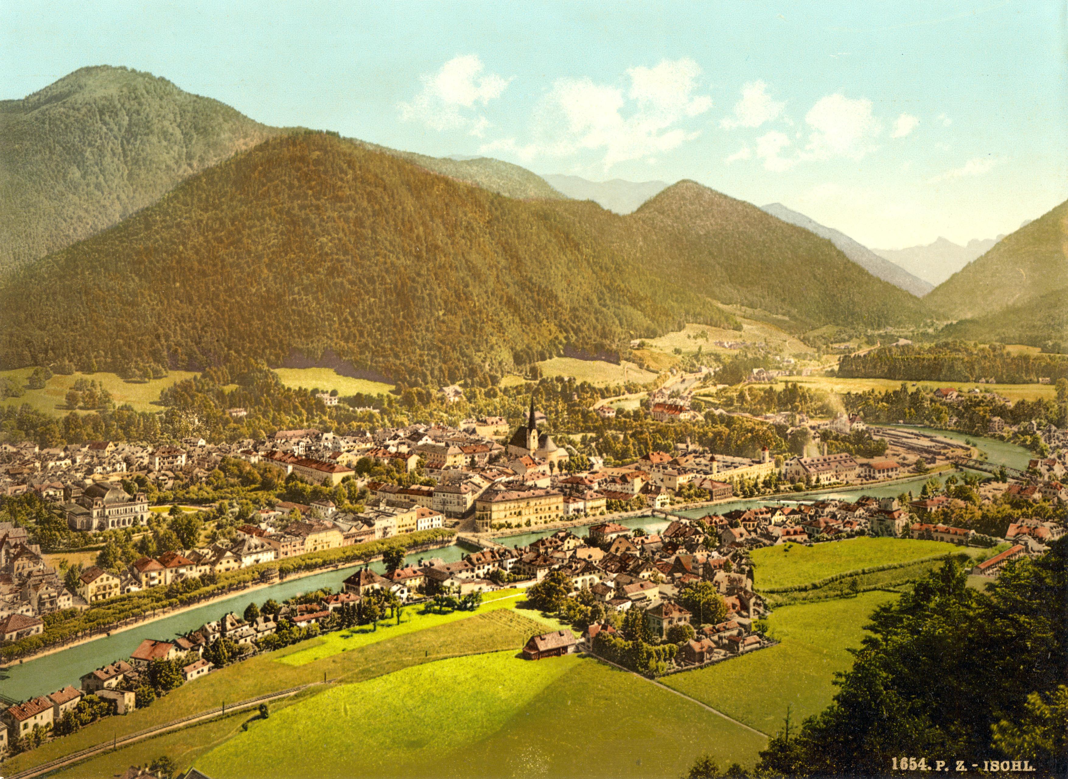 File Ischl Upper Austria Austria Hungary 1890s Jpg