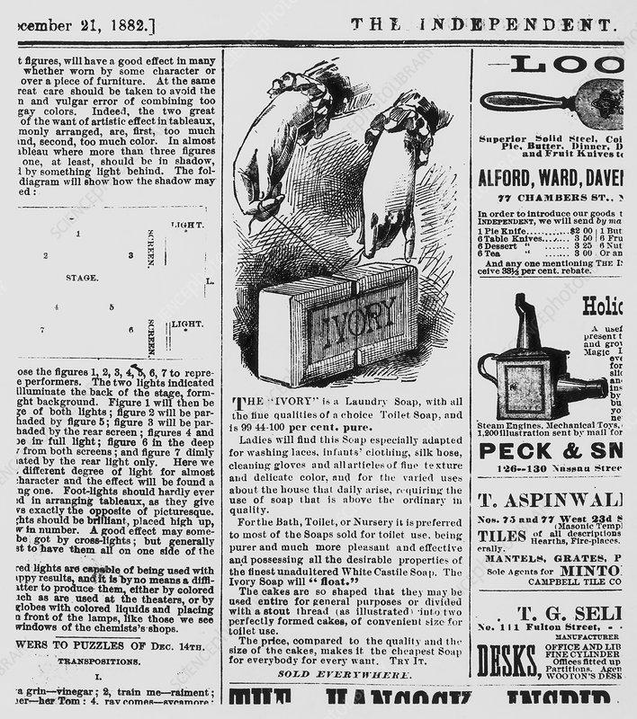 Reklama Ivory Soap