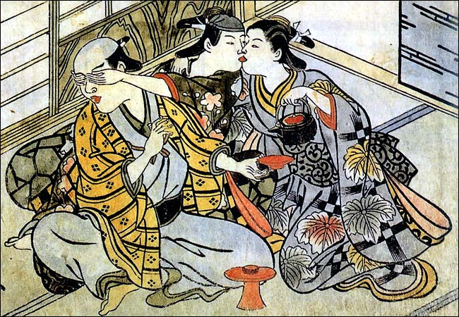 18th Century Japanese Tapestry