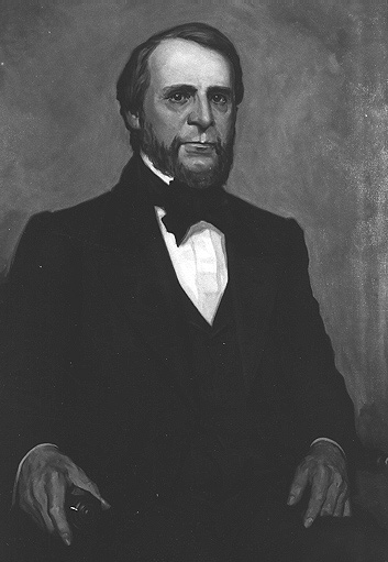 Painting of Joseph R. Williams, first President of Michigan Agricultural College, courtesy of Wikipedia Commons