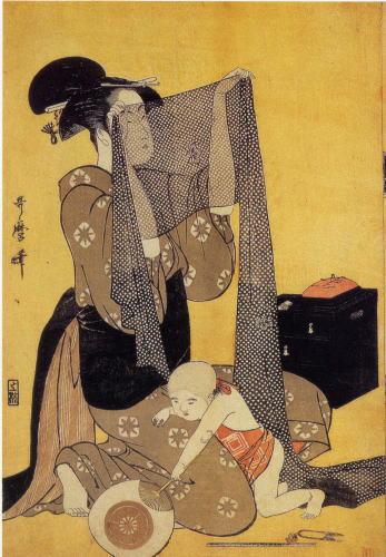 http://upload.wikimedia.org/wikipedia/commons/f/ff/Kitagawa_Utamaro_Ararekomon.jpg