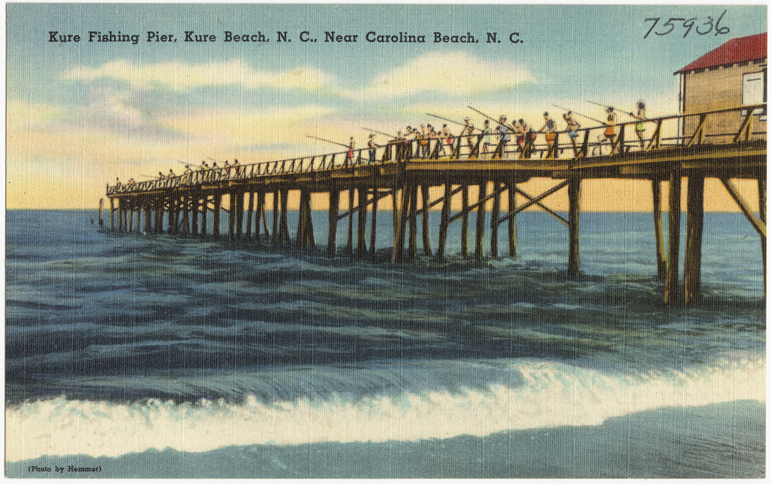 Carolina Beach To Wilmington Nc >> File:Kure Fishing Pier, Kure Beach, N. C., near Carolina Beach, N. C. (5756048788).jpg ...