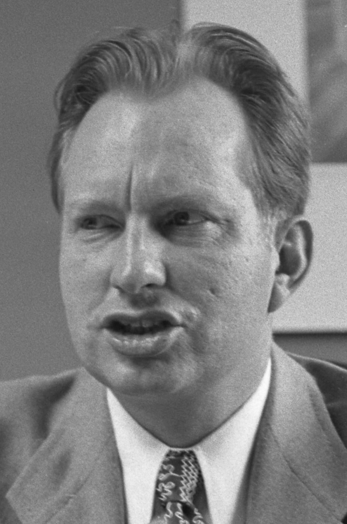 Hubbard in 1950