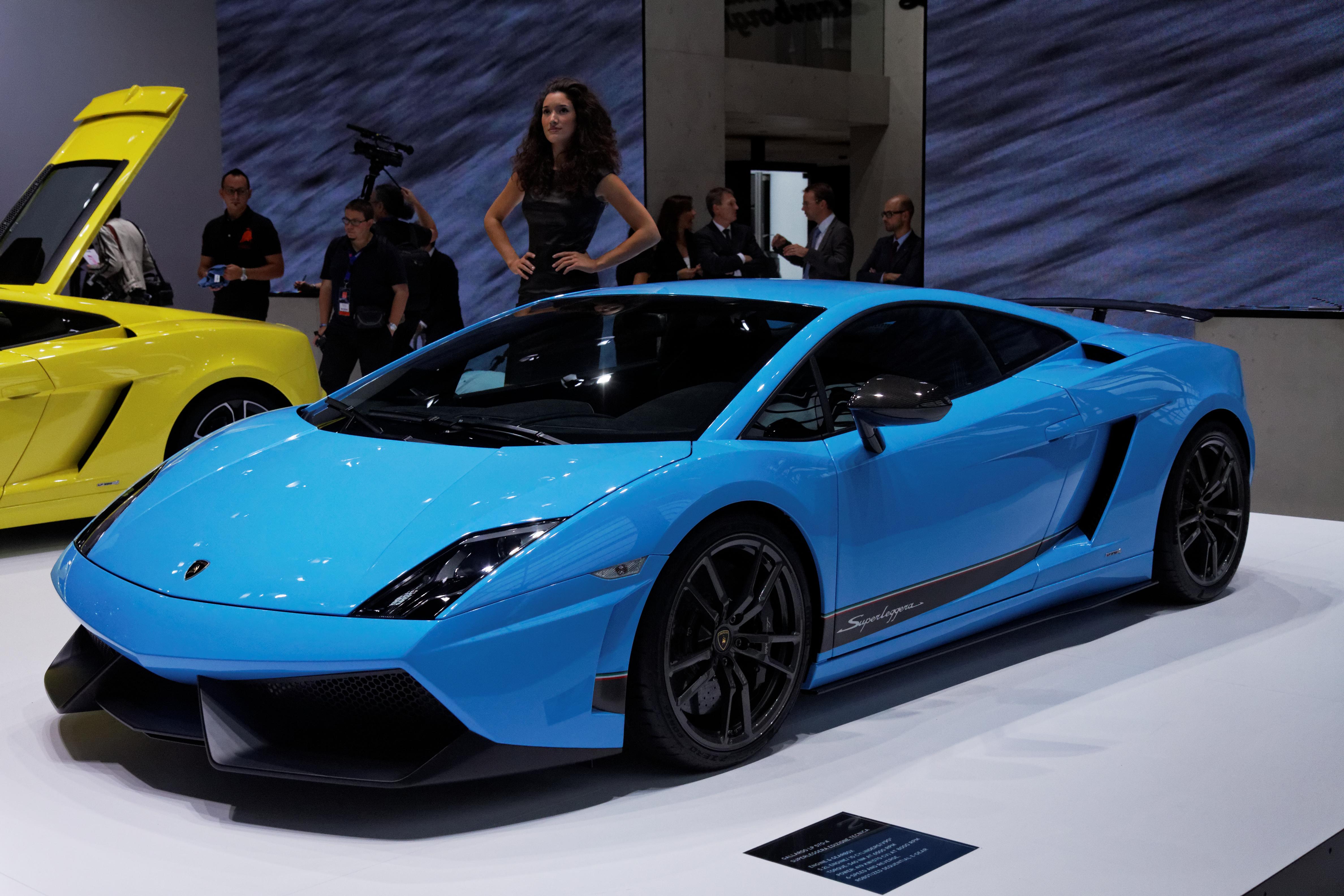 2013 Lamborghini Gallardo Lp 570 4 Superleggera